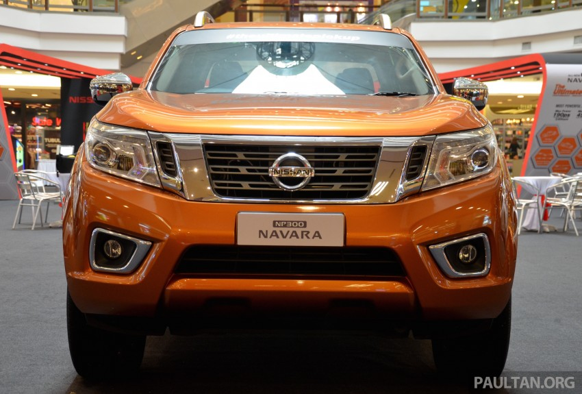 Nissan NP300 Navara VL now on display at 1 Utama Image #395021