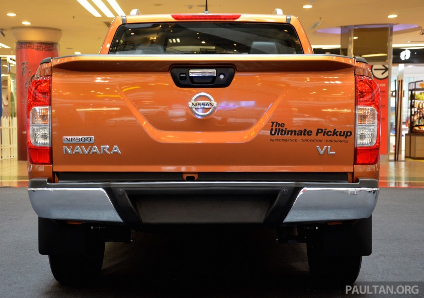 Nissan NP300 Navara VL now on display at 1 Utama Image #395045