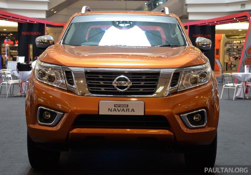 Nissan NP300 Navara VL now on display at 1 Utama Image #395046