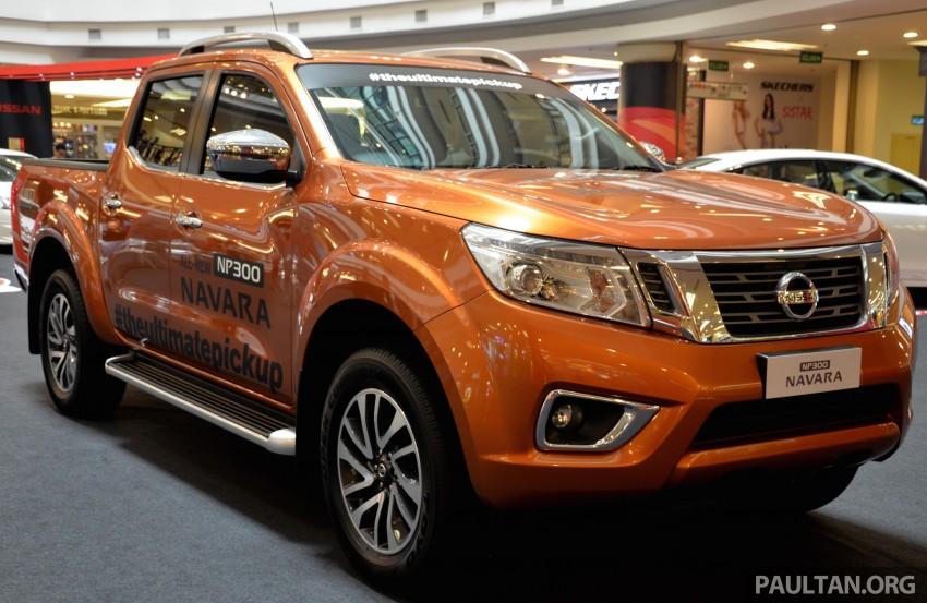 Nissan NP300 Navara VL now on display at 1 Utama Image #395047