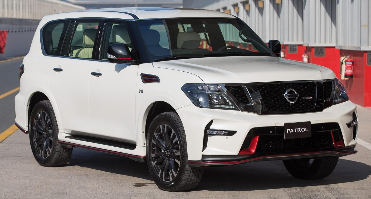 Nissan Patrol Nismo revealed - 5.6L V8 with 428 hp!