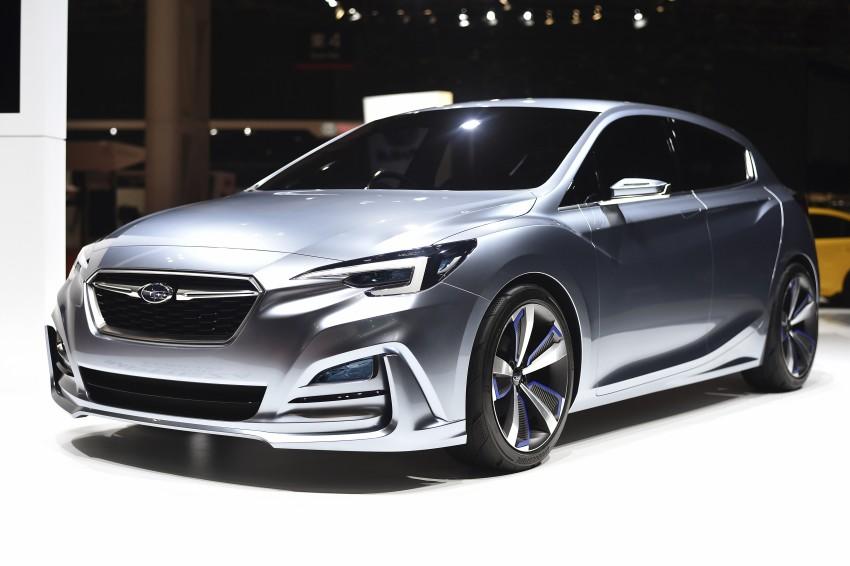 Tokyo 2015: Subaru Impreza 5-Door Concept debuts Image #399153