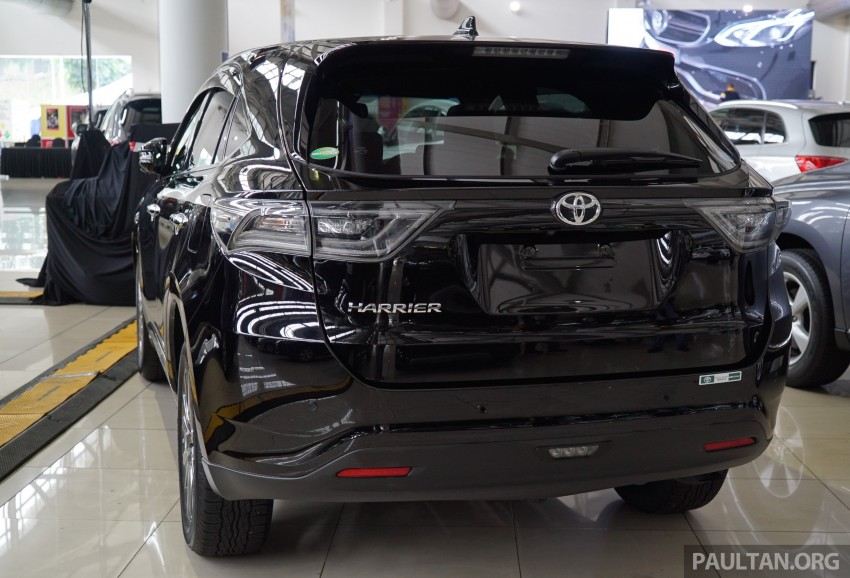 GALLERY: Toyota Harrier 2.0 Premium Advanced spec Image #386976