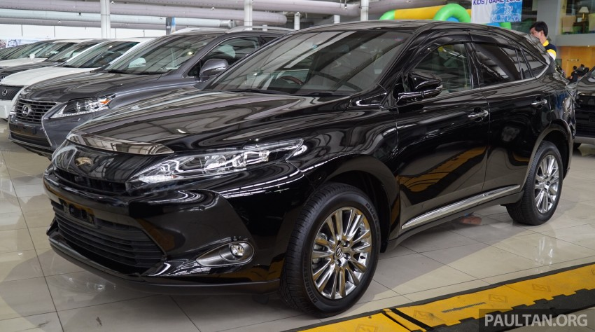 GALLERY: Toyota Harrier 2.0 Premium Advanced spec Image #386979