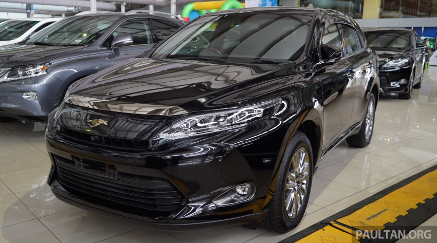 GALLERY: Toyota Harrier 2.0 Premium Advanced spec Image #386981