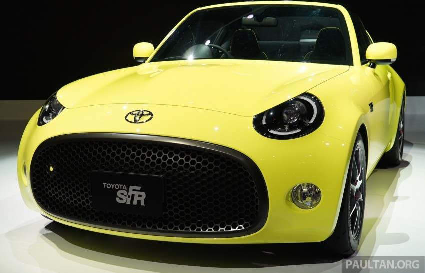 Tokyo 2015: Toyota S-FR – new entry-level sports car Image #398461