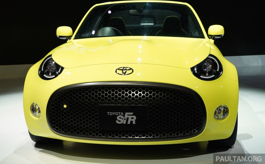 Tokyo 2015: Toyota S-FR – new entry-level sports car Image #398464