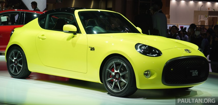 Tokyo 2015: Toyota S-FR – new entry-level sports car Image #398465