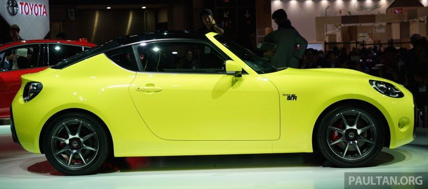 Tokyo 2015: Toyota S-FR – new entry-level sports car Image #398467