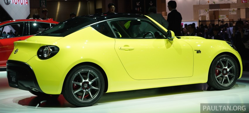 Tokyo 2015: Toyota S-FR – new entry-level sports car Image #398468