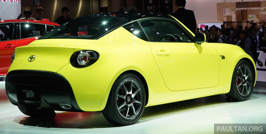 Tokyo 2015: Toyota S-FR – new entry-level sports car Image #398470