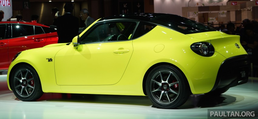 Tokyo 2015: Toyota S-FR – new entry-level sports car Image #398473