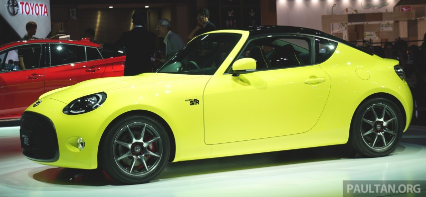 Tokyo 2015: Toyota S-FR – new entry-level sports car Image #398474