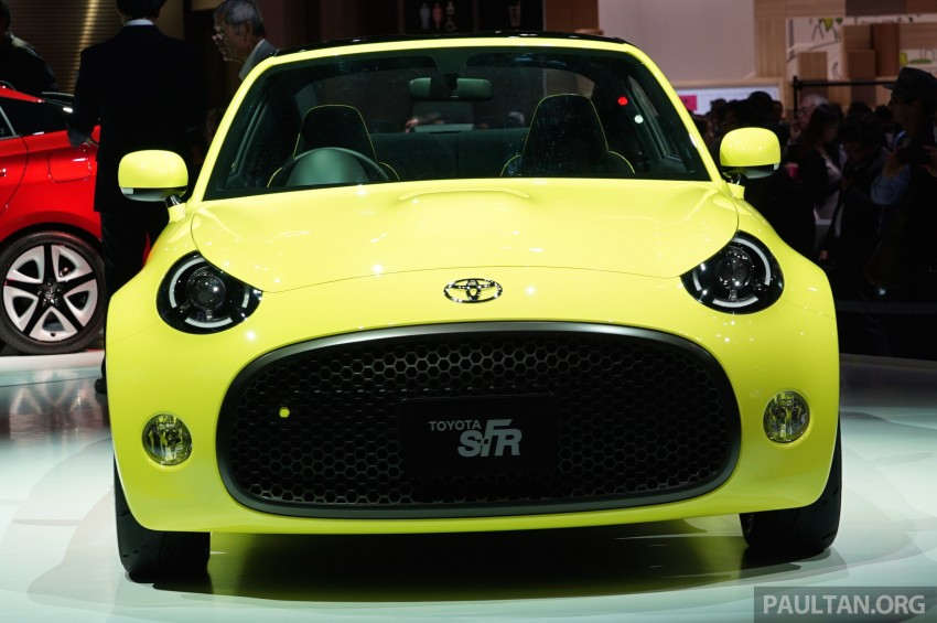 Tokyo 2015: Toyota S-FR – new entry-level sports car Image #398475