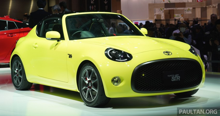Tokyo 2015: Toyota S-FR – new entry-level sports car Image #398477