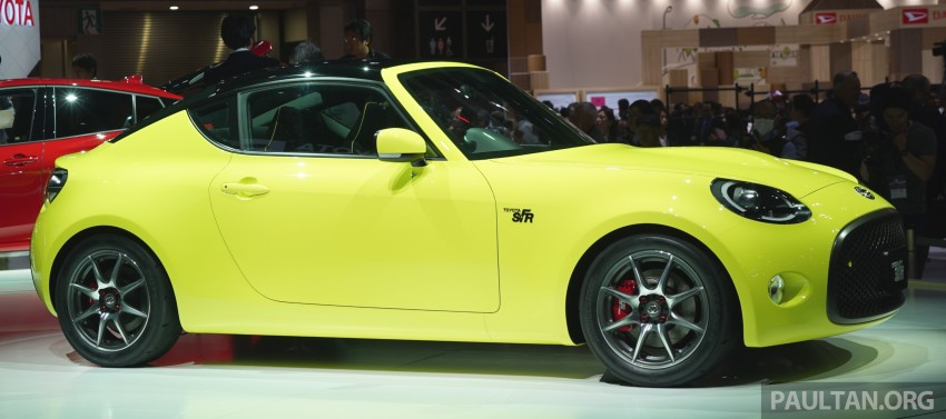 Tokyo 2015: Toyota S-FR – new entry-level sports car Image #398478