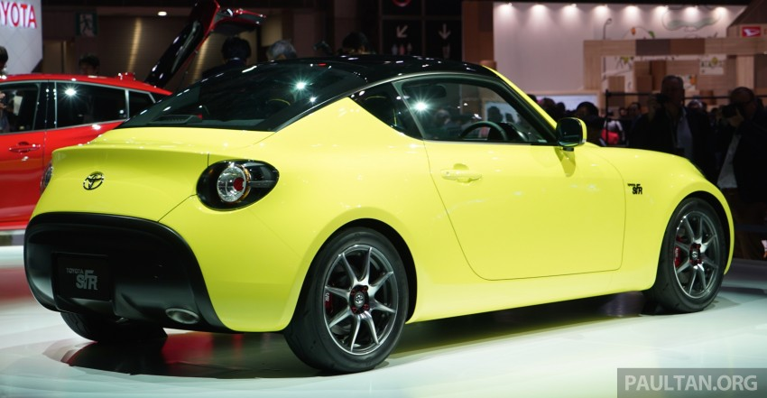 Tokyo 2015: Toyota S-FR – new entry-level sports car Image #398479