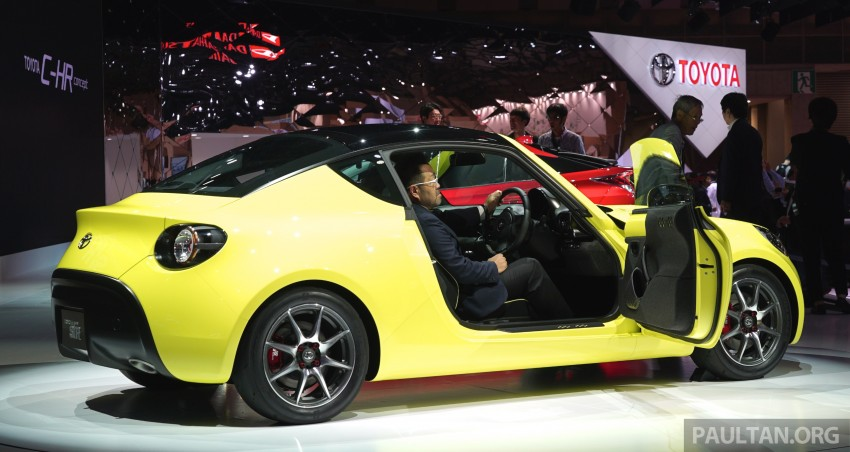 Tokyo 2015: Toyota S-FR – new entry-level sports car Image #398480
