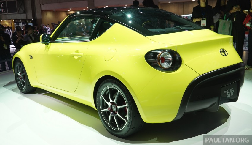 Tokyo 2015: Toyota S-FR – new entry-level sports car Image #398485