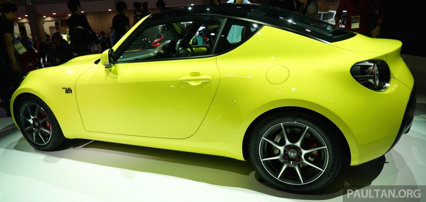 Tokyo 2015: Toyota S-FR – new entry-level sports car Image #398487
