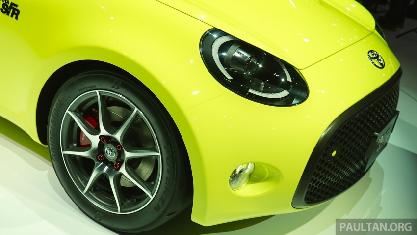 Tokyo 2015: Toyota S-FR – new entry-level sports car Image #398492