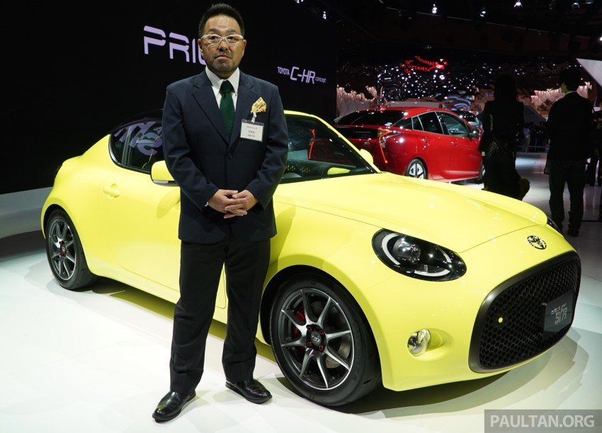 Tokyo 2015: Toyota S-FR – new entry-level sports car Image #398493