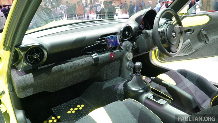 Tokyo 2015: Toyota S-FR – new entry-level sports car Image #398495