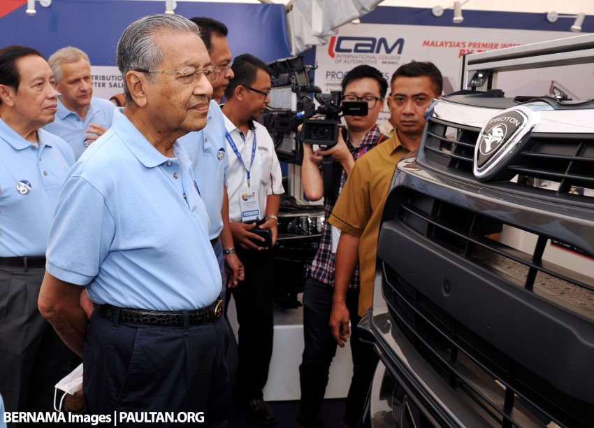 Tun M on Proton's problems: public perception issues persist, despite great improvements to its cars Image #387944
