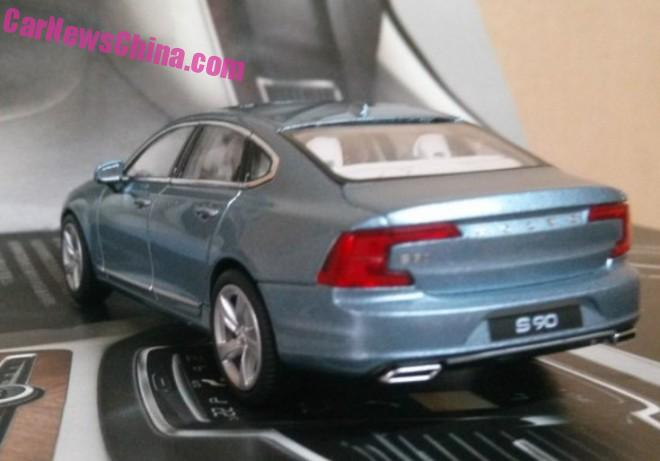 Volvo S90 model leaked, offers most detailed look yet Image #391173