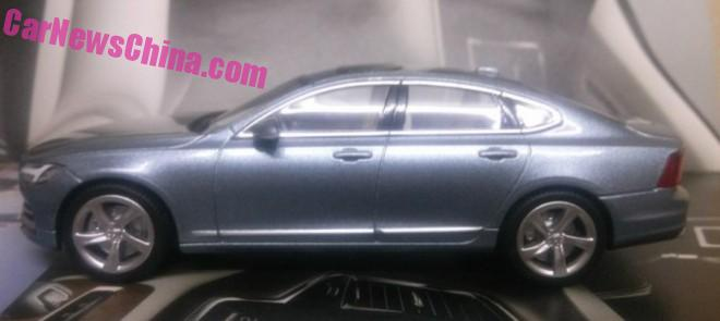 Volvo S90 model leaked, offers most detailed look yet Image #391174