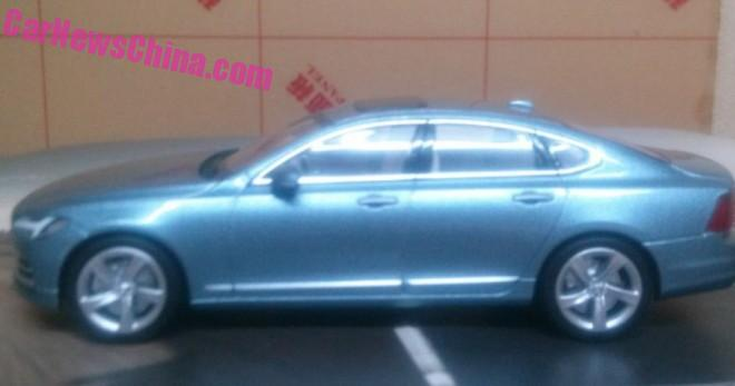 Volvo S90 model leaked, offers most detailed look yet Image #391177