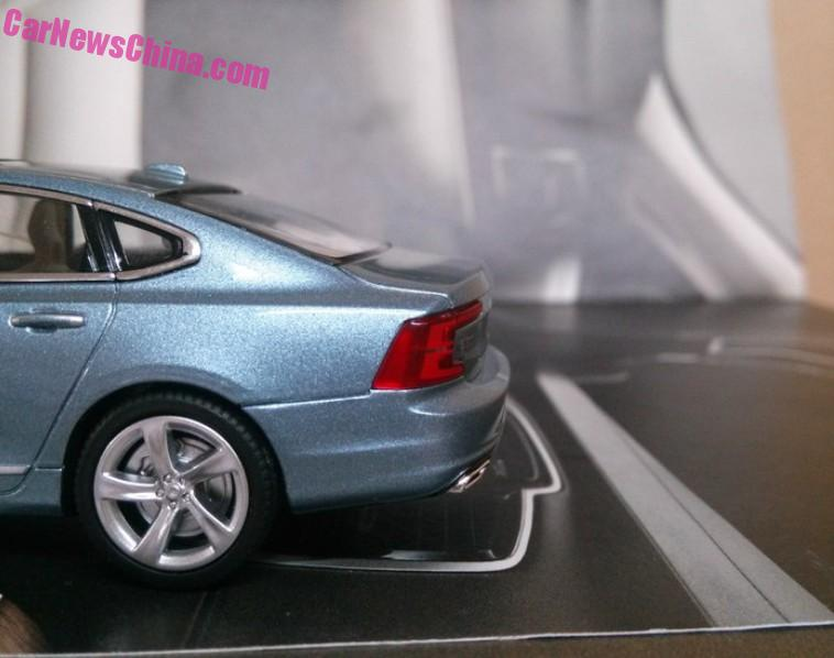 Volvo S90 model leaked, offers most detailed look yet Image #391178