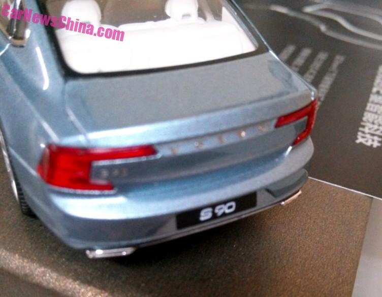 Volvo S90 model leaked, offers most detailed look yet Image #391180