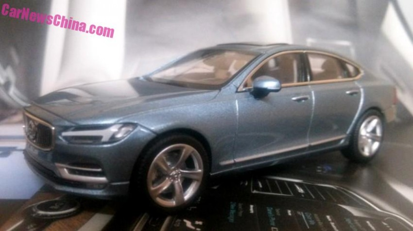 Volvo S90 model leaked, offers most detailed look yet Image #391187