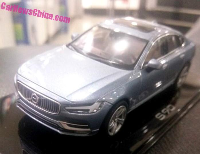 Volvo S90 model leaked, offers most detailed look yet Image #391189