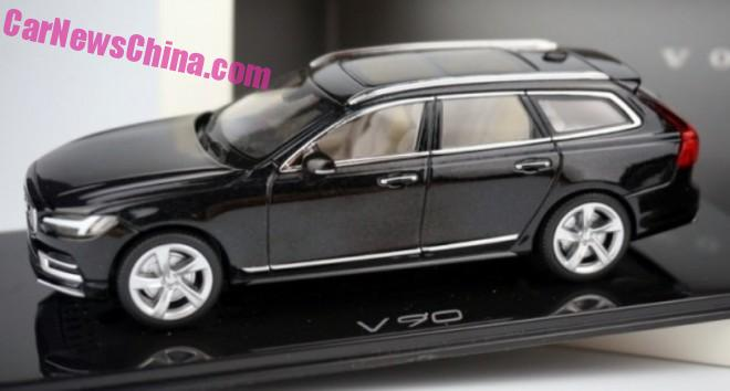 Volvo V90 model leaked – estate version of the S90 Image #394475