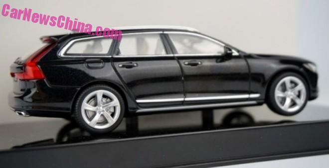 Volvo V90 model leaked – estate version of the S90 Image #394473