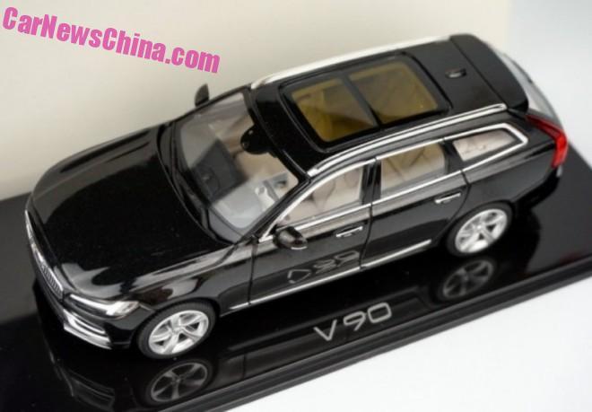 Volvo V90 model leaked – estate version of the S90 Image #394472
