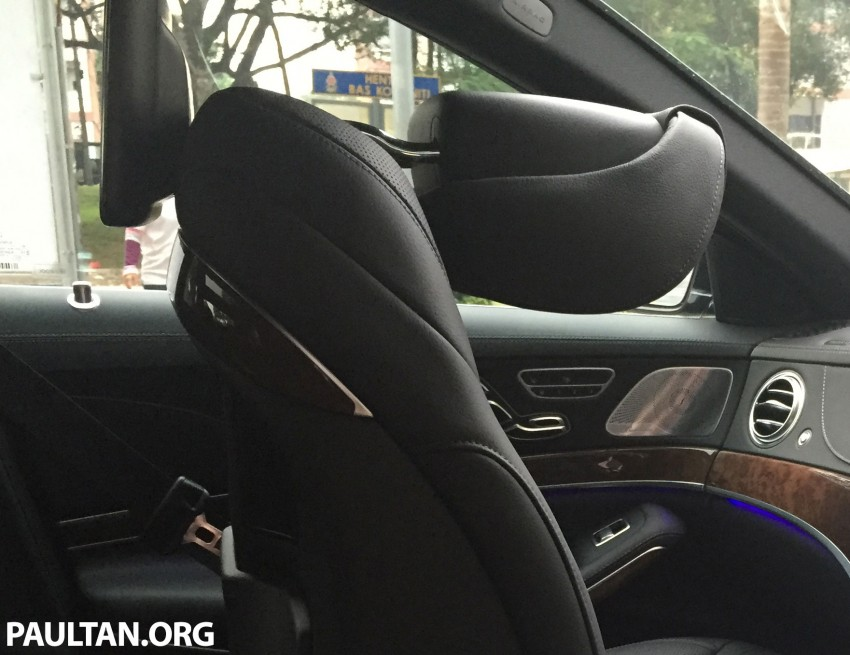 Battle of the lounge seats: W222 Mercedes-Benz S-Class and G11 BMW 7-Series rear seats compared Image #386527