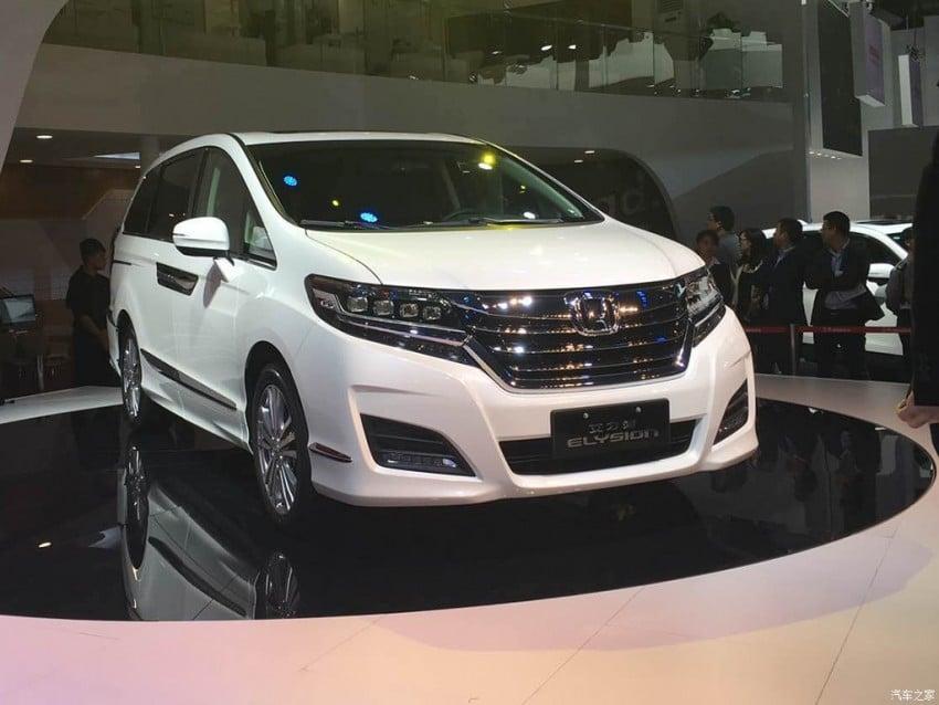 Honda Elysion – 2nd-gen Alphard/Vellfire rival shown Image #410718