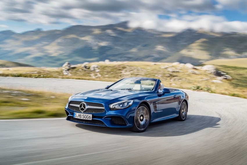 Mercedes-Benz SL facelift leaks ahead of LA debut Image #407831