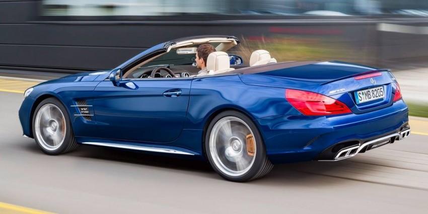Mercedes-Benz SL facelift leaks ahead of LA debut Image #407829