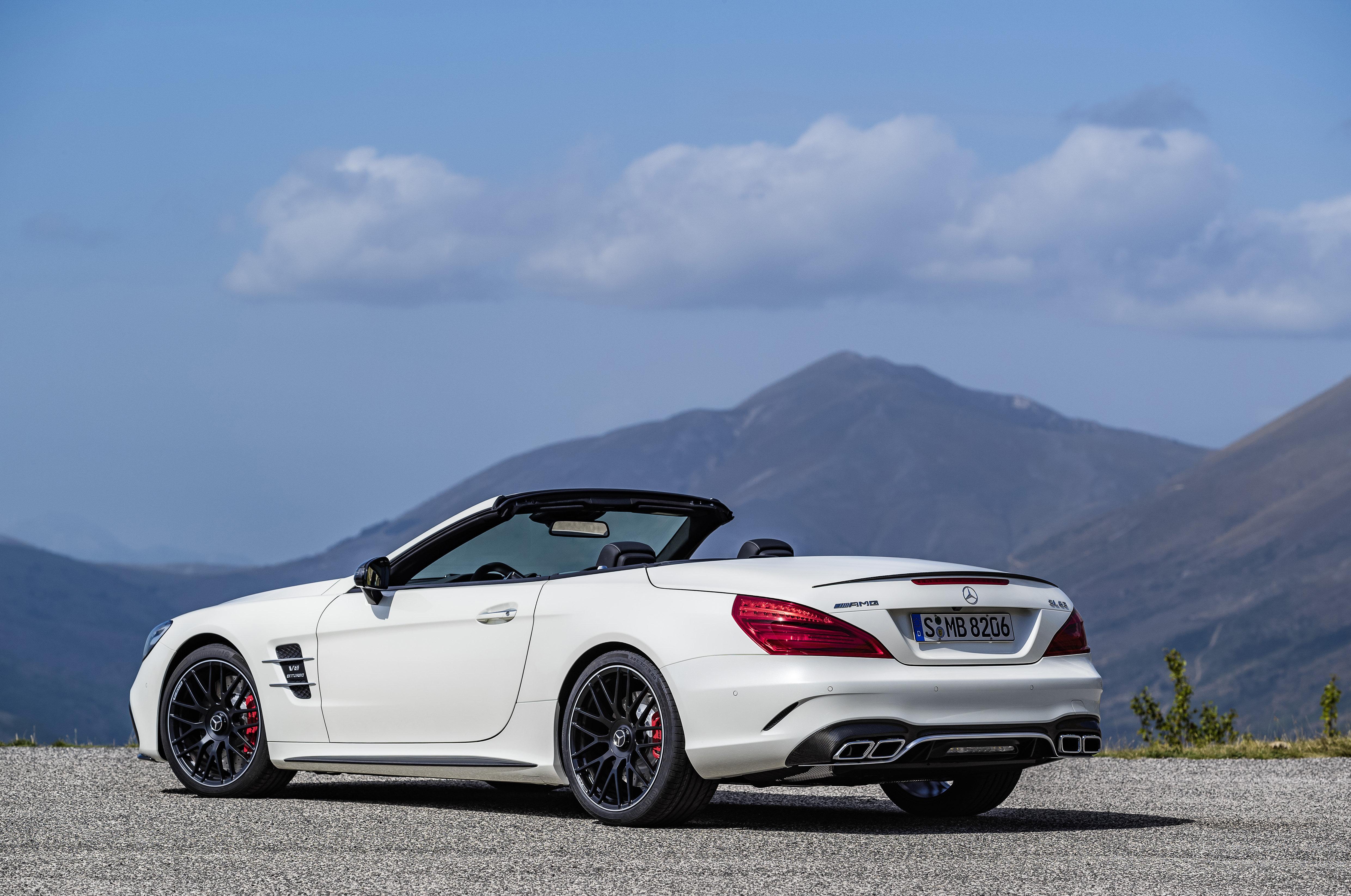 R231 Mercedes-Benz SL facelift unveiled – SL 400, SL 500 ...
