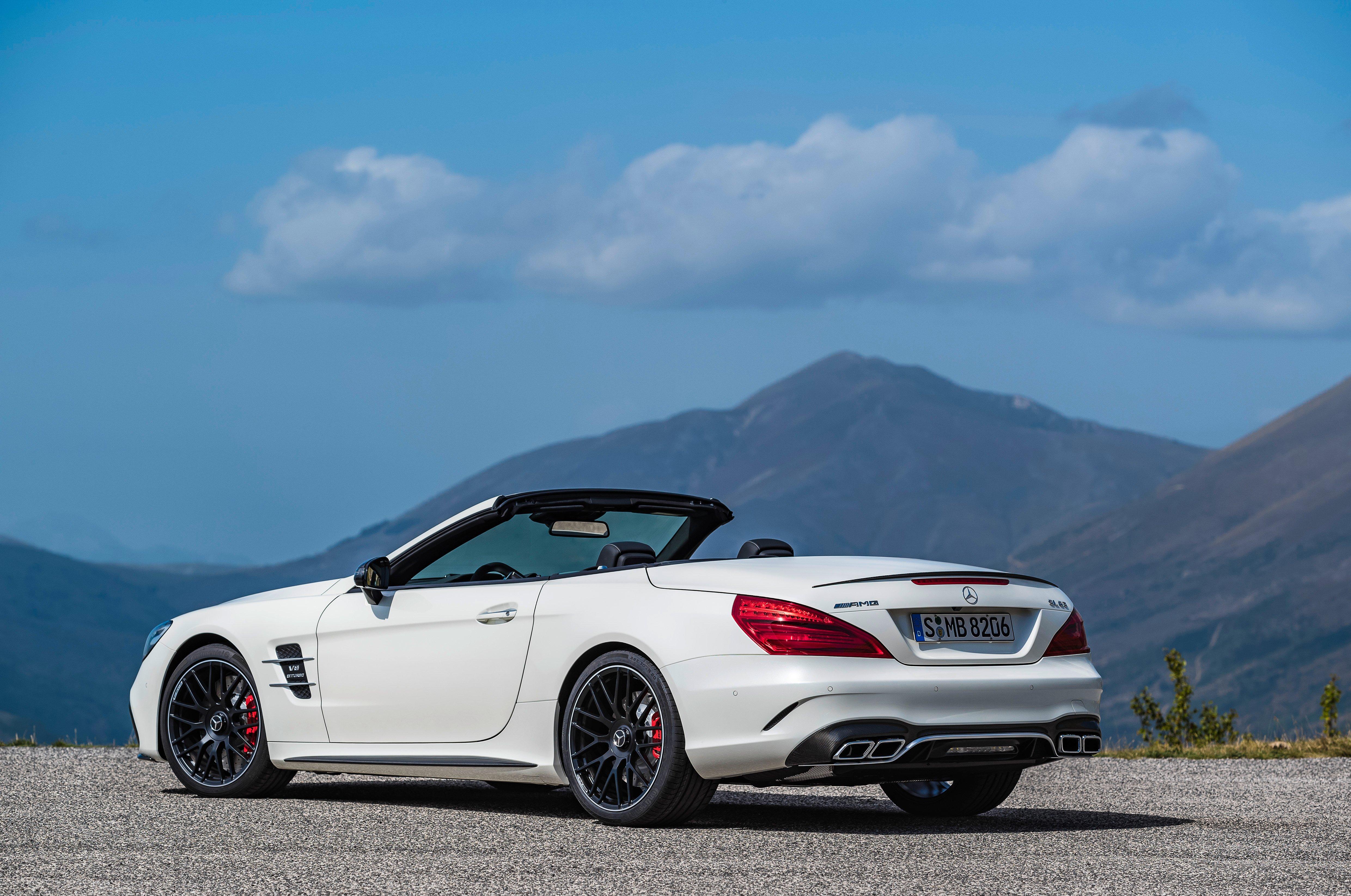 R231 mercedes benz sl facelift unveiled sl 400 sl 500 for Mercedes benz sl 63 amg