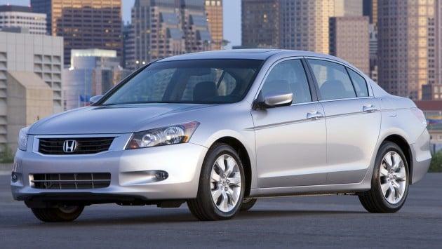 2008 Honda Accord EX-L V-6 Sedan.