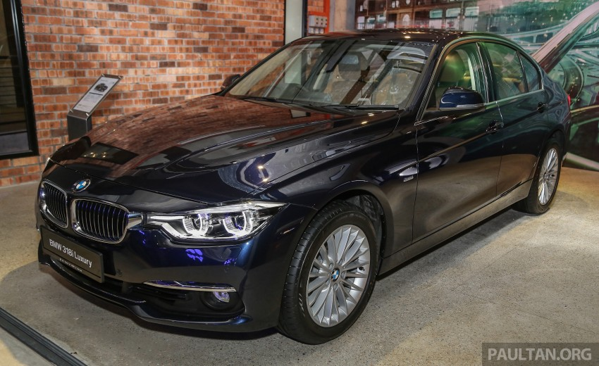 F30 BMW 3 Series LCI launched in Malaysia – 3-cyl 318i, 320i, 320d and 330i from RM209k to RM309k Image #407071