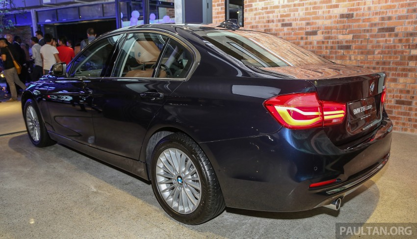 F30 BMW 3 Series LCI launched in Malaysia – 3-cyl 318i, 320i, 320d and 330i from RM209k to RM309k Image #407082