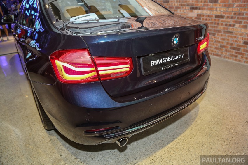 F30 BMW 3 Series LCI launched in Malaysia – 3-cyl 318i, 320i, 320d and 330i from RM209k to RM309k Image #407083