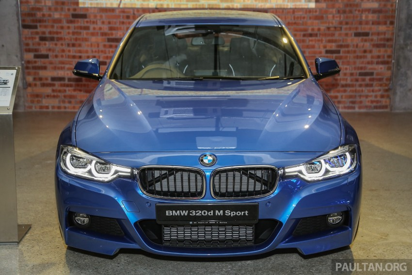F30 BMW 3 Series LCI launched in Malaysia – 3-cyl 318i, 320i, 320d and 330i from RM209k to RM309k Image #407160