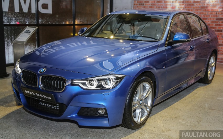 F30 BMW 3 Series LCI launched in Malaysia – 3-cyl 318i, 320i, 320d and 330i from RM209k to RM309k Image #407161